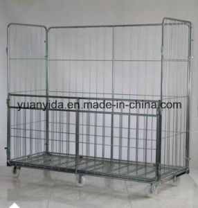 Full Sided Security Wire Mesh Roll Container pictures & photos