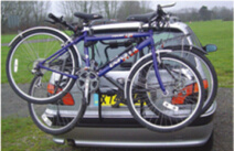 Steel Hitch Bike Carrier for Outdoor Sports Rear Bike Carrier pictures & photos