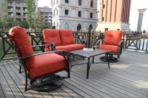 New Design Outdoor Cast Aluminum Loveseat Group Furniture pictures & photos