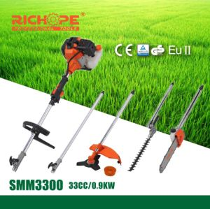 Hot Sale High Quality Professional Portable Gasoline Lawn Mower (SMM3300) pictures & photos