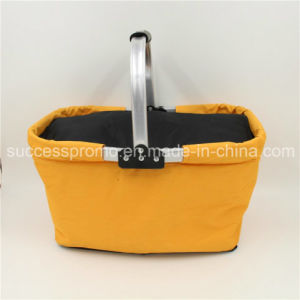Shopping Basket Shaped Insulated Cooler Bag with Good Quality pictures & photos