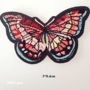 Butterfly Motif Clothes Patch, Butterfly Pattern Garment Accessories, Factory Clothing Patch pictures & photos