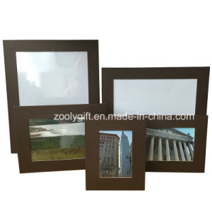 4 X6 Brown Textured Pattern Paper Photo Frame pictures & photos
