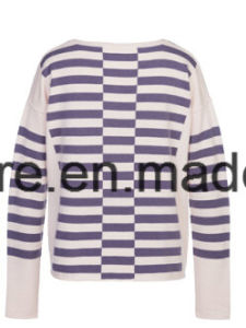Lady Stripes Long Sleeve Knitwear pictures & photos