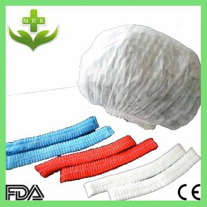 Xiantao Hubei MEK Disposable Non Woven Gorro Enfermera Cap/ Mob Cap/ Clip Cap pictures & photos
