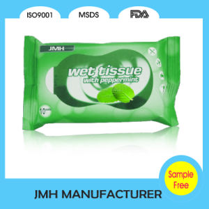 2016 Sample Free Mint Wet Wipe for Hand Cleaning (WW002) pictures & photos