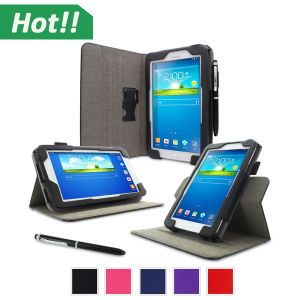 Luxury Smart Leather Case Cover Stand Leather Case Cover for Samsung Tab4 7inch