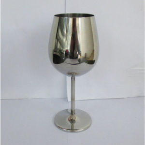 Round Shaped Stainless Steel Wine Goblets pictures & photos