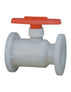 PVDF Flange Ball Valve, PVC Valve, Industrial Plastic Valves pictures & photos