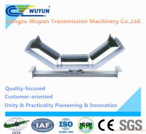 Upper Friction Self-Aligning Idler Frame and Steel Belt Conveyor Roller Idler pictures & photos