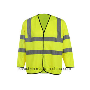 Long Sleeve High Visibility Refelective Safety Vest pictures & photos