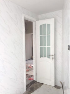Ritz Double Doors for Bedromm or Shower Room Wooden Interior Door pictures & photos