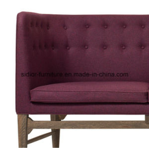 (SD-6006) Modern Hotel Restaurant Office Wooden Leisure Fabric Sofa pictures & photos