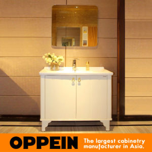 Oppein No Counter Top Modern Lacquer Bathroom Vanity (OP15-128A) pictures & photos