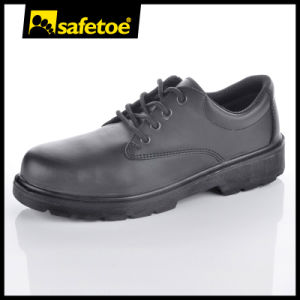 Cheap Steel Toe Work Shoes Steel Toe Shoes for Men Leather Work Shoes pictures & photos