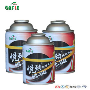 Gafle/OEM High Purity Three-Piece Can Refrigerant R134A Refrigerant Gas pictures & photos