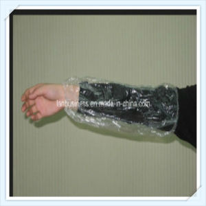 Ly Wholesale Disposable PE Sleeve Cover with Elastic pictures & photos