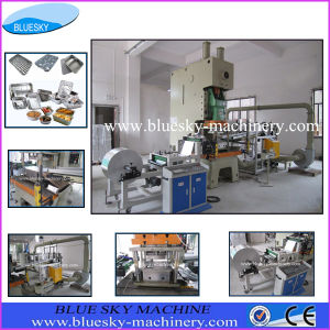 Aluminum Foil Container Forming Machine (Mould for optional)