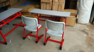 Primary School Student Desk and Chair (SF-15D1) pictures & photos