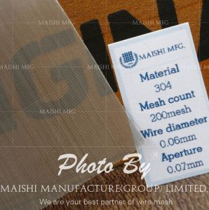 316L Stainless Steel Printing Mesh pictures & photos