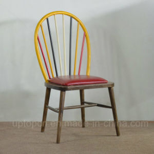 New Colorful Restaurant Dining Solid Wood Chairs (SP-EC664) pictures & photos