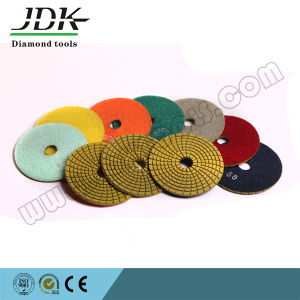 100mm Diamond Flexible Polishing Pads for Marble and Granite pictures & photos