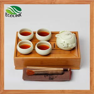 Chinese Traditional Style Bamboo Tea Tray Kung Fu Tea Set pictures & photos