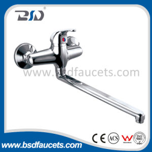 Sanitary Ware Economic Brass Water High Neck Kitchen Faucet pictures & photos