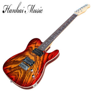 Hanhai Music / Tele Style Electric Guitar with Basswood Body pictures & photos