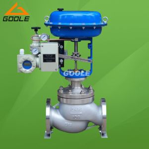 Pneumatic Single Seat Globe Type Pressure Regulating Valve (GHTC) pictures & photos