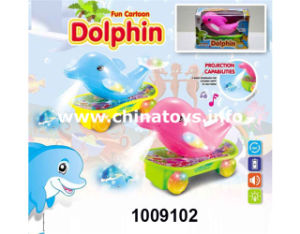 B/O Universal Skateboard Dolphin with Light&Music (1009102) pictures & photos