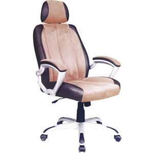 Popular Swivel Executive Office Faux Leather Chair with Headrest (FS-MA063) pictures & photos