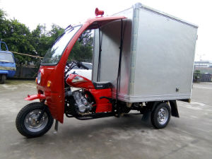Semi Cabin of Three Wheel Motorcycle with Closed Box pictures & photos