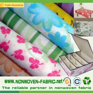 Excellent Home Nonwoven Textile Printed Design Fabric pictures & photos