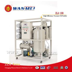 China Famous Zla Series Double-Stages High Efficiency Vacuum Transformer Oil Purifier