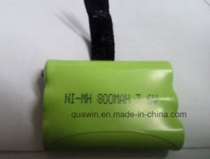 3.6V 800mAh NiMH Battery Pack Interphone Battery pictures & photos