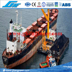 25t@30m Floating Bulk Cargo Electrical Crane with Ex-Centre Arm pictures & photos