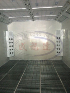 Water Based Paint Spray Booth for Garage Equipment Wld8400 pictures & photos
