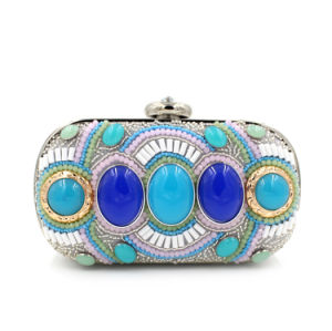Ethnic Style High Quality Party Handbag Box Women Clutch Bag pictures & photos