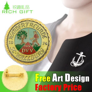 2016 New Design Custom Tin Button Badge for Promotion Gift pictures & photos