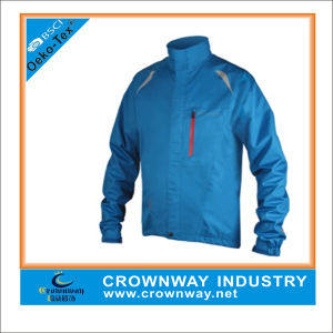Blue Reflective Fit Sport Cycling Jacket for Men pictures & photos