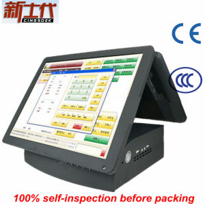 Hz-4680d Cash Registers with Cheap Dual Screen for Restaurant
