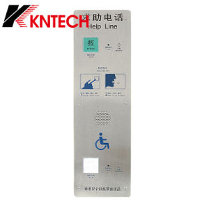 Cheap Price, Knzd-16 Help Line Push to Call Intercom Phone Emergency Telephone for Metro/ Airport pictures & photos