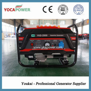 2kVA Manual Start Gasoline Electric Power Generator Set pictures & photos