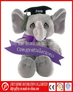 Lovely Plush Toy of Elephant for Graduation Season pictures & photos