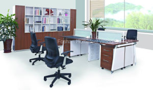Modern Wooden Office Furniture Workstation with Partition Screen (HF-E542) pictures & photos