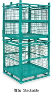Warehouse Storage Wire Mesh Cage pictures & photos
