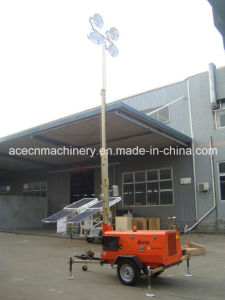 Lighting Tower 9m (Lighting for construction&working site)
