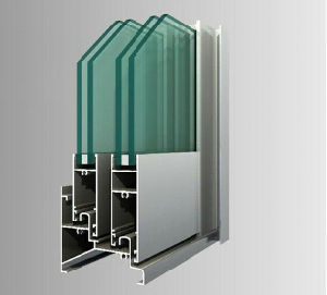 Toma Double Glazed Aluminium Profile for Window and Door pictures & photos