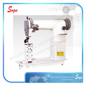 Xs0251 Sogu Double Needle Post Bed Lockstitch Sewing Machine pictures & photos